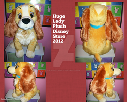 Huge Lady Plush Lady and the Tramp by BeautifulHusky
