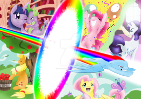 Friendship is Magic-Poster by Fly-Sky-High