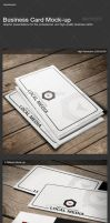 Business Card Mock-Up by calwincalwin