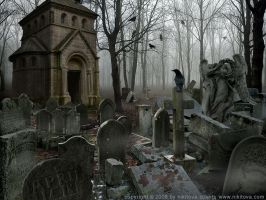 Sleepy Hollow. Graveyard by kidy-kat