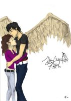 My Guardian Angel - Colored by Shaefellar