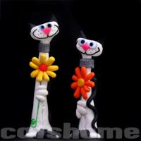 funny cat and dog sculpt. 12 by catshome