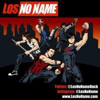 Los No Name Poster by WillNoName