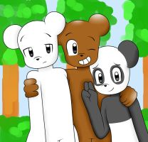 we bare bear my estilo by kary22