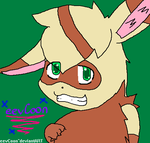 my little eevCoon by BlueTheFoxx