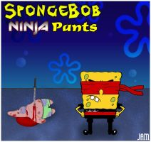 SpongeBob Ninja Pants by Dark1llusion