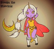 recolored Soraka :sqee: by MrsTango