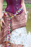 Rainbow Scale Flower Belt by Utopia-Armoury