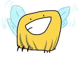 Fat Bumble-Bee by Indonesia-chan