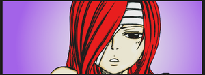 'Erza' Colouring by PlatinaBirds