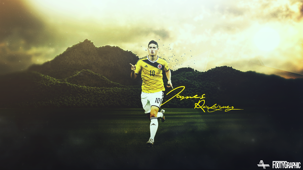 James Rodriguez By Yasin 618-d7pl4vk by Footygraphic