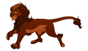 Lion for MalisTLK by sugarxKAT