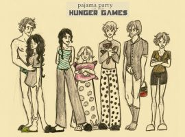 Pajama party (THG) by xxIgnisxx