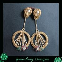 Rosie's earrings by green-envy-designs
