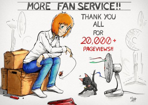 More Fanservice!! - [20,000+ Pageviews] by Sly-Mk3