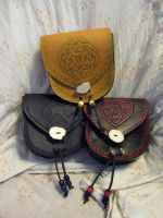 Belt Pouches by AThousandRasps