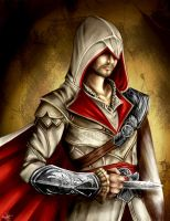 Assassin's Creed - Ezio Auditore by Rebe-chan-vk