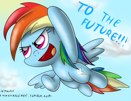 Dash to the future 30 minute art challenge by Ziemniax