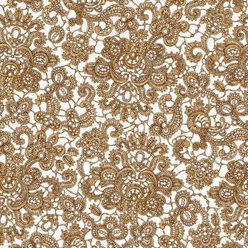Lace Seamless GOLD by Yagellonica
