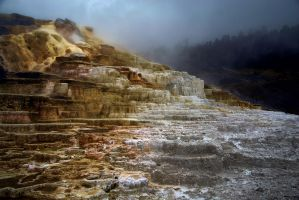 Mammoth Hot Springs by CitizenFresh