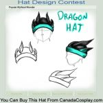 Dragon hat by Tyliss