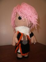 Sackboy Natsu of Fairy Tail by Sackboyncostume