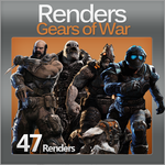 Gears of War Renders Pack by krazekay