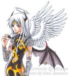 Silver Archangel - commission by miaow