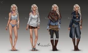 Norrei - outfits by barn-swallow