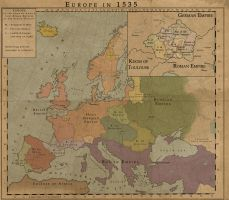 World by the Year 1535 by MarcosCeia