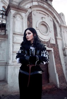 Witcher 3 cosplay - Yennefer by ver1sa