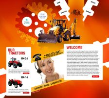Tractor Website by Elad-M