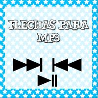 Flechas PNG para MP3 by Luiisa9612
