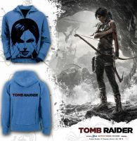TOMB RAIDER Blue Adventurer Hoodie by yasuryay