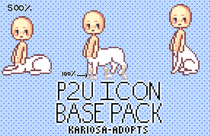 Taur Icon Base Pack (P2U) by Kariosa-Adopts