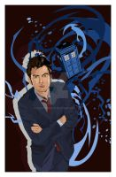 TEN! doctor who (David Tennant) by GretaGreta