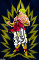 Broly Le super sayien Legendaire by Niiii-Link