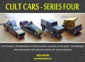 Cult Cars - Series Four by mikedaws