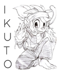 Ikuto The Monkey by NOBODYWAzHERE