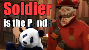 Soldier is the Panda by WaWor
