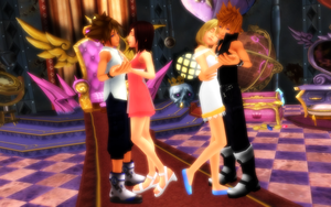 MMD KH - Dancing Tonight - SoKai RoxNami by XxChocolatexHeartsxX