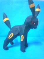 umbreon papercraft by rafex17