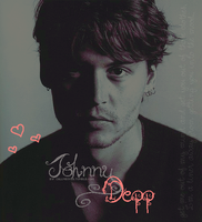 Johnny Depp by hidingmymess