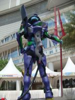 EVA-01 at Central Park Mall 3 by V-male
