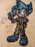 {:GIFT:} WaxDog1908 by Ryna-pentaceratops