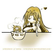 FFVII : To eat one up... by Cobyfrog