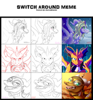 Switch meme~ by Rorita-Sakura