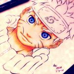 Uzumaki W.I.P Traditional Coloring by Randazzle100