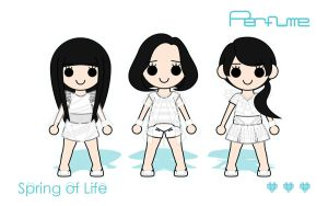 Perfume (Capsule) - SoL Wallpaper SP 16:10 by XCurarpiktX