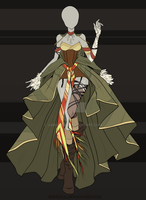 (CLOSED) Adoptable Outfit Auction 27 by Risoluce
